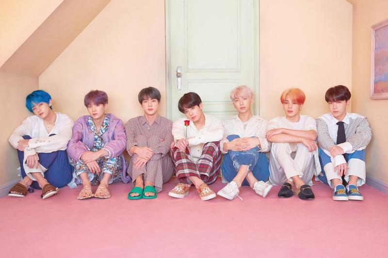 "BTS ""Map of the Soul: Persona"" Album Release Ed Sheeran Halsey Boy With Luv Collaborations"
