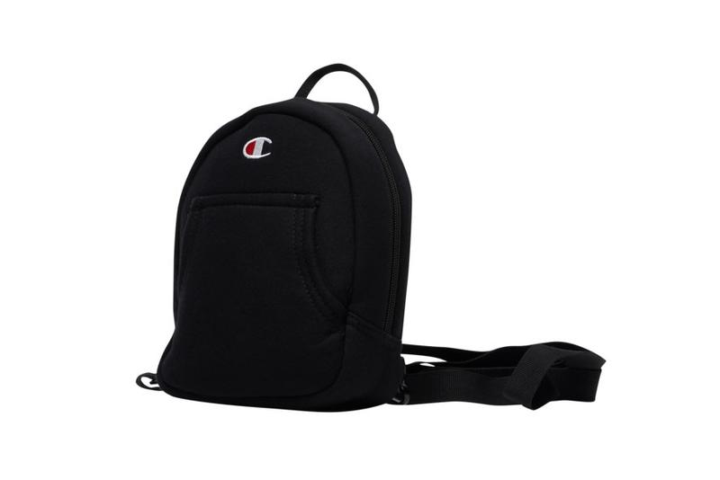 Champion Reverse Weave Mini Backpack Pink Black