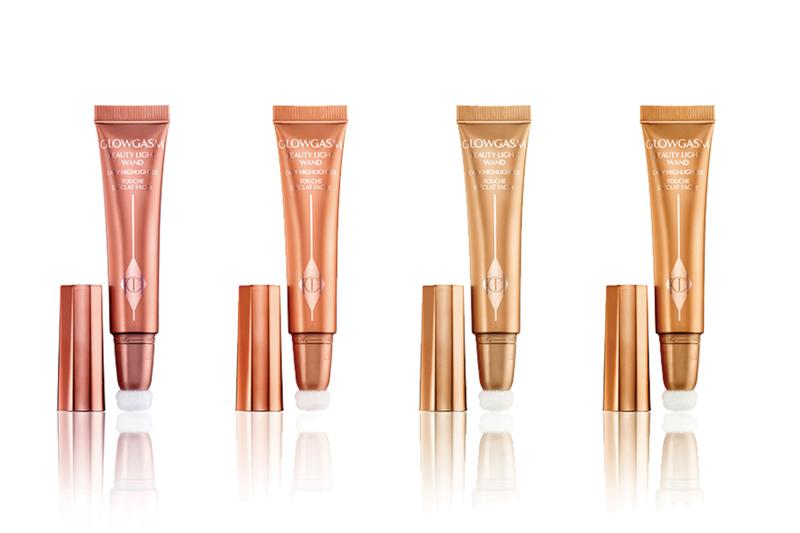 Charlotte Tilbury GLOWGASM Makeup Collection Highlighter Wand Palette Range Drop Release