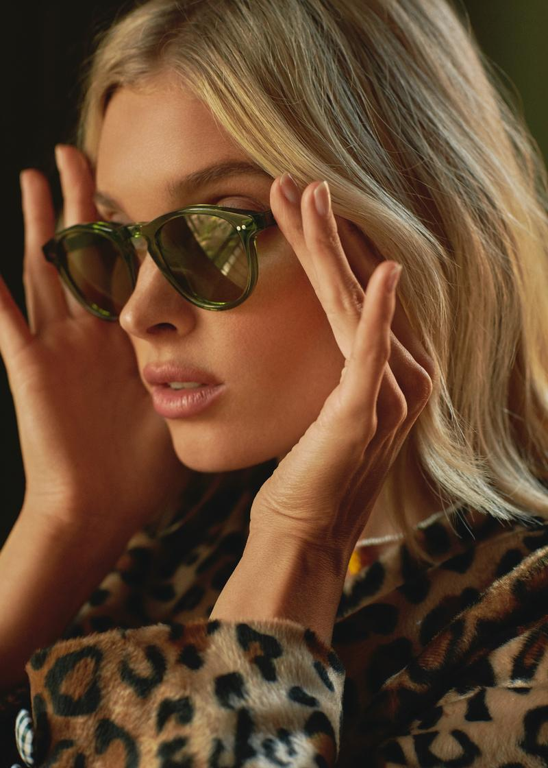 Elsa Hosk CHIMI Eyewear Sunglasses Fashion Drop Shades Lookbook Shoot Collection 4