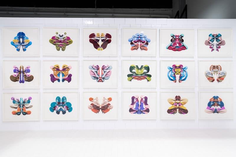 CJ Hendry Rorshach Exhibition