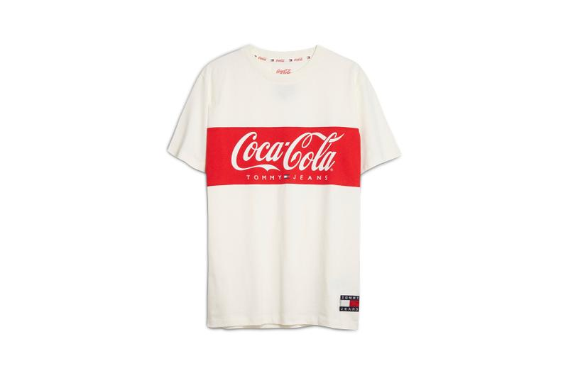 Coca-Cola x Tommy Jeans Capsule Collection T-shirt Red White