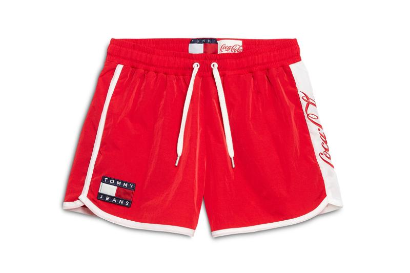 Coca-Cola x Tommy Jeans Capsule Collection Shorts Red