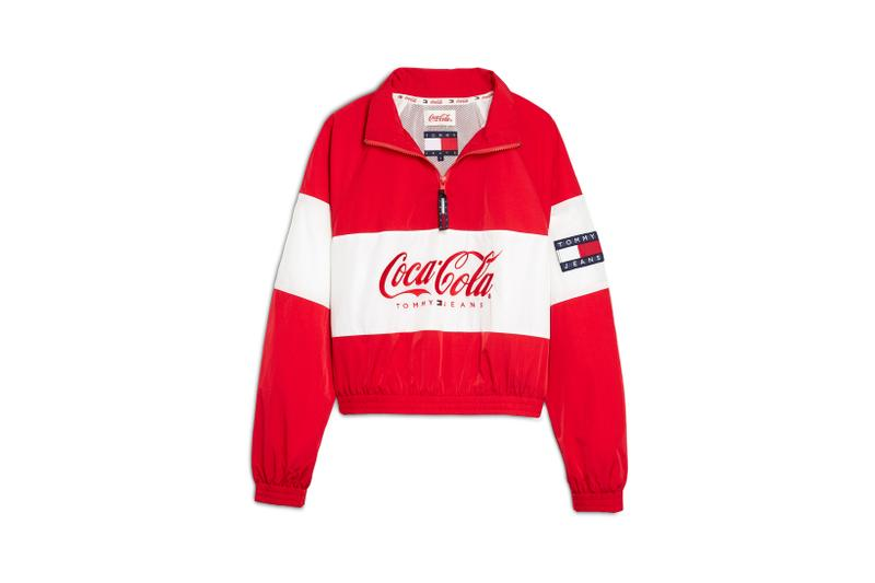 Coca-Cola x Tommy Jeans Capsule Collection Jacket Red White