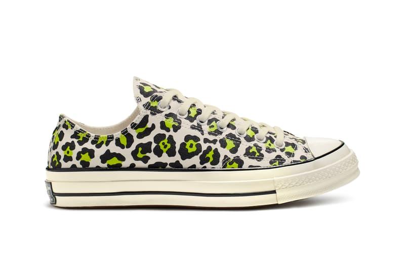 Converse Chuck 70 Jack Purcell Spring Release Color Patterns Drop Leopard Print Sneaker Zebra Orange Purple
