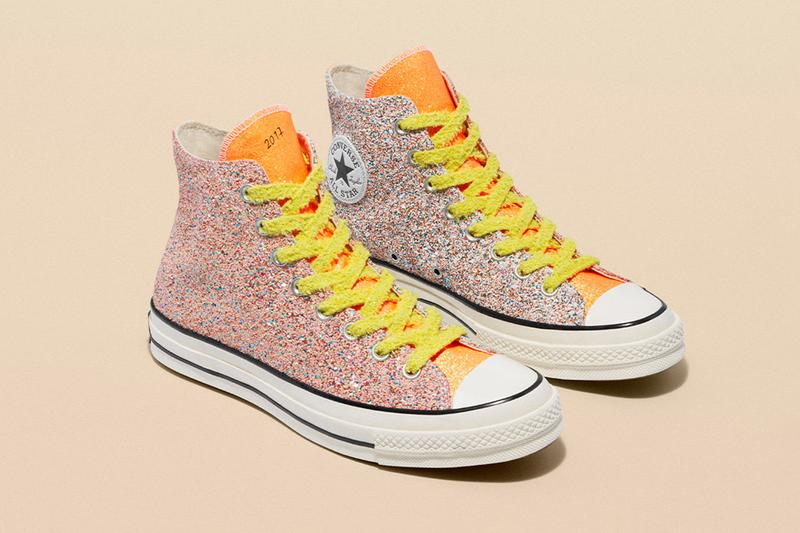 JW Anderson Converse Glitter Release Date Info Chuck Taylor All Star 70 Run Star Hike 164695c