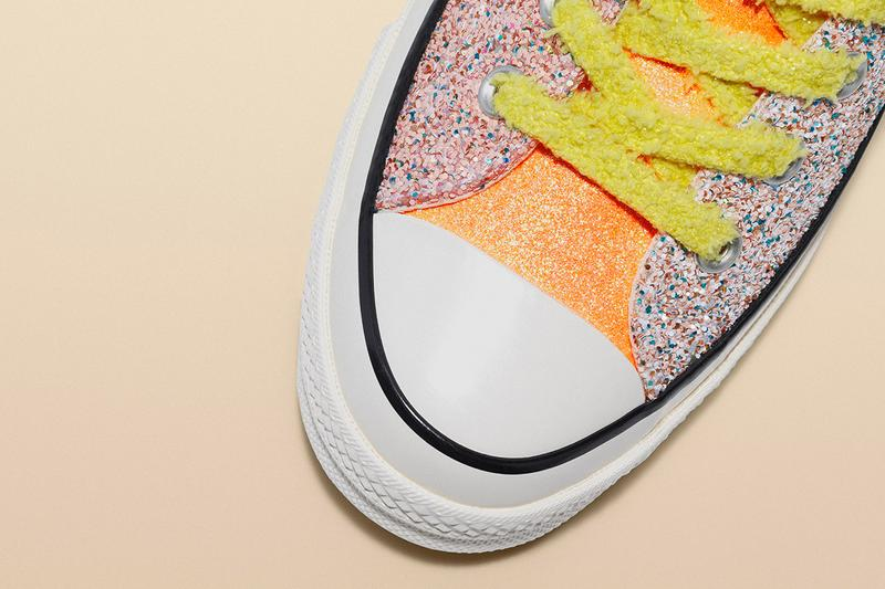 JW Anderson Converse Glitter Release Date Info Chuck Taylor All Star 70 Run Star Hike