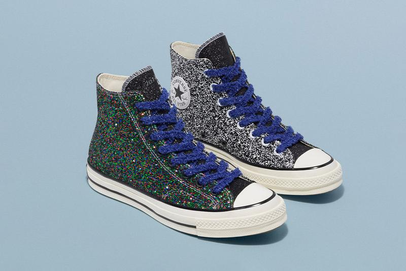 JW Anderson Converse Glitter Release Date Info Chuck Taylor All Star 70 Run Star Hike 164697C