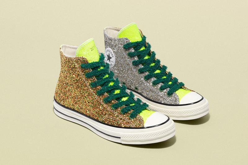 JW Anderson Converse Glitter Release Date Info Chuck Taylor All Star 70 Run Star Hike 164696C