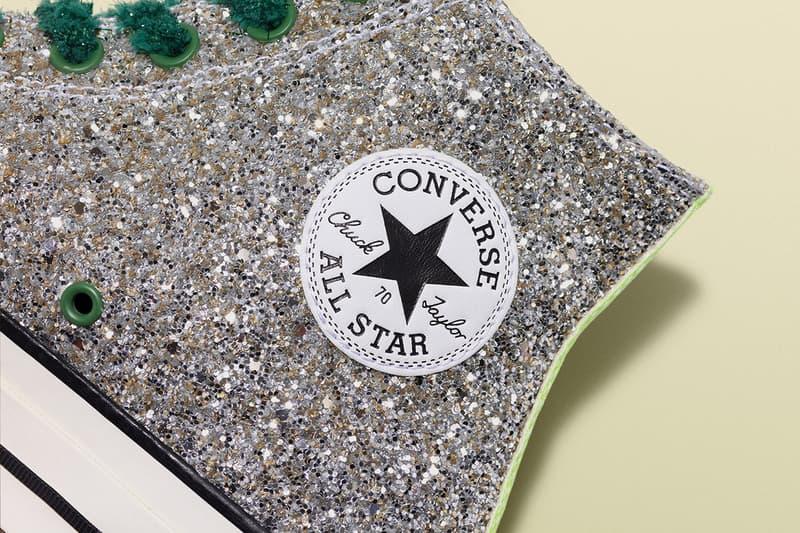 JW Anderson Converse Glitter Release Date Info Chuck Taylor All Star 70 Run Star Hike