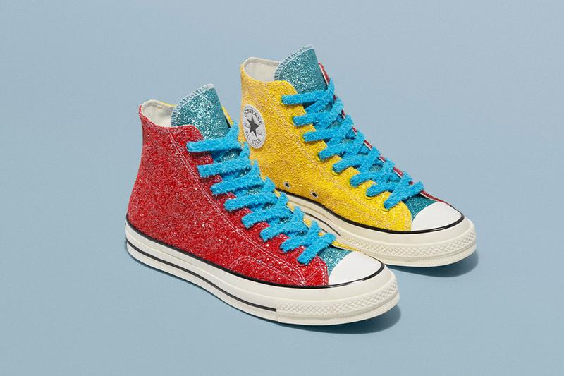 JW Anderson Converse Glitter Release Date Info Chuck Taylor All Star 70 Run Star Hike 164694C
