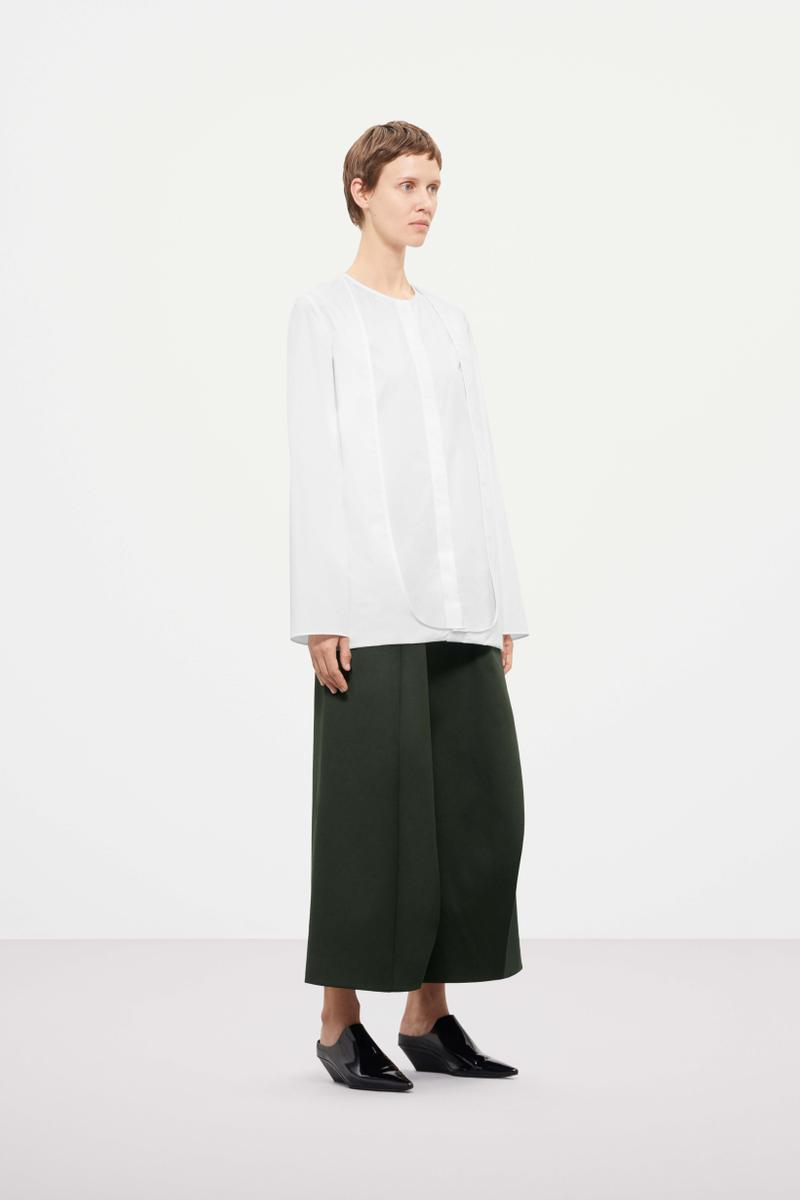 Cos Fall Winter 2019 Lookbook Top White Pants Black