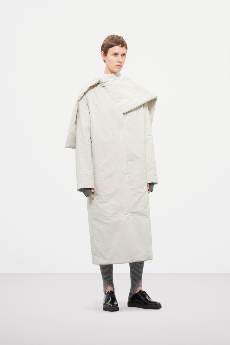 Cos Fall Winter 2019 Lookbook Coat White