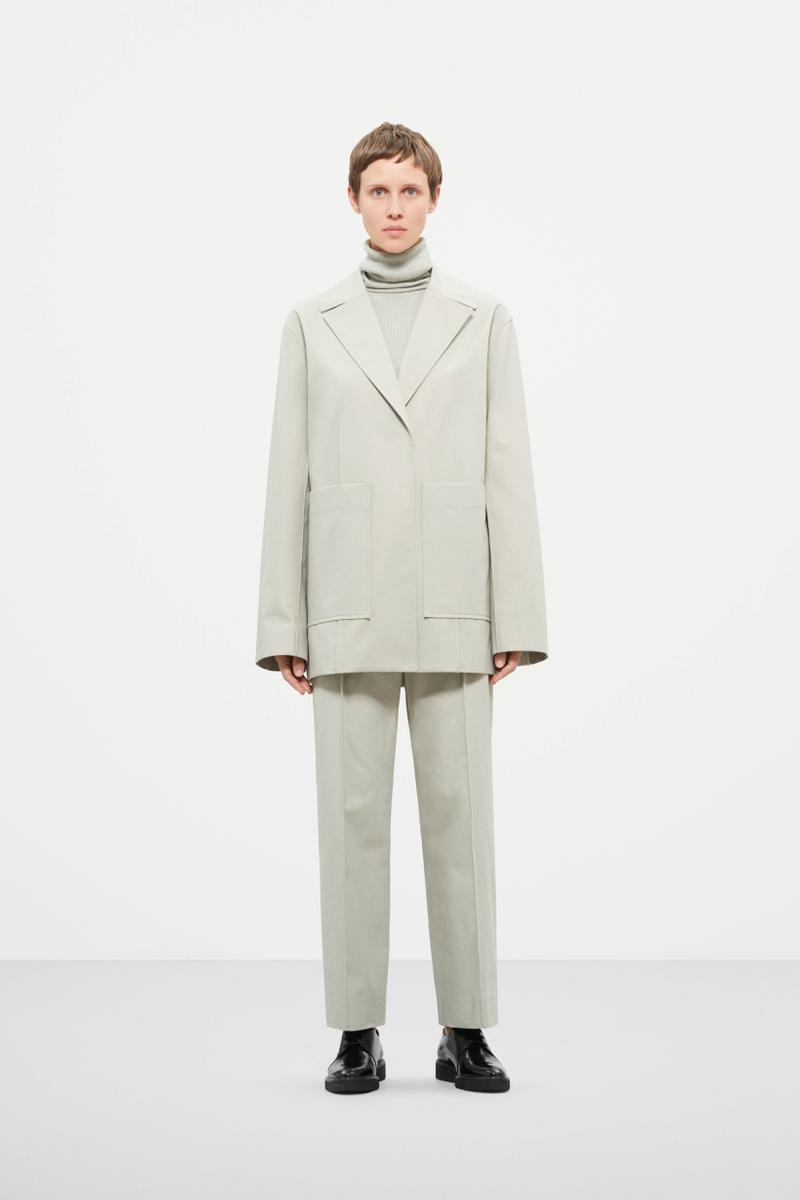 Cos Fall Winter 2019 Lookbook Coat Trousers Off White
