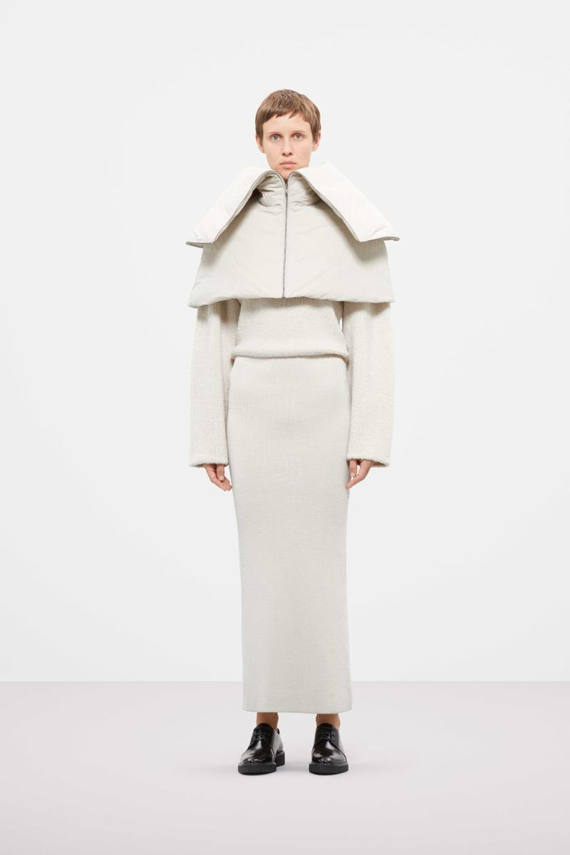 Cos Fall Winter 2019 Lookbook Coat Skirt White