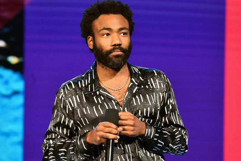 Donald Glover 2018 BET Awards Shirt Black White