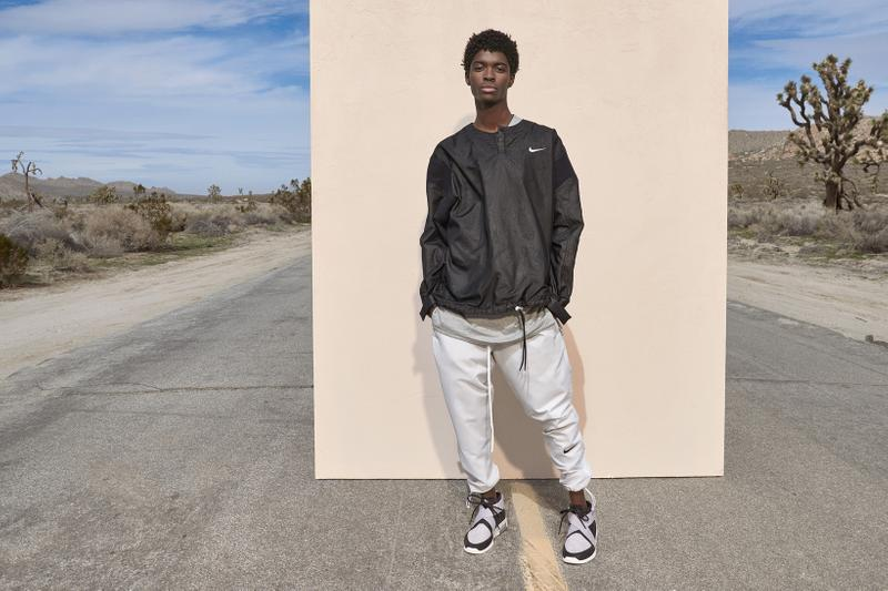Fear of God x Nike Spring Summer 2019 Collection Sweater Black Pants Air Raid Cream
