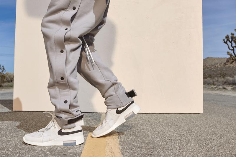 Fear of God x Nike Spring Summer 2019 Collection Sweatpants Air Raid Cream