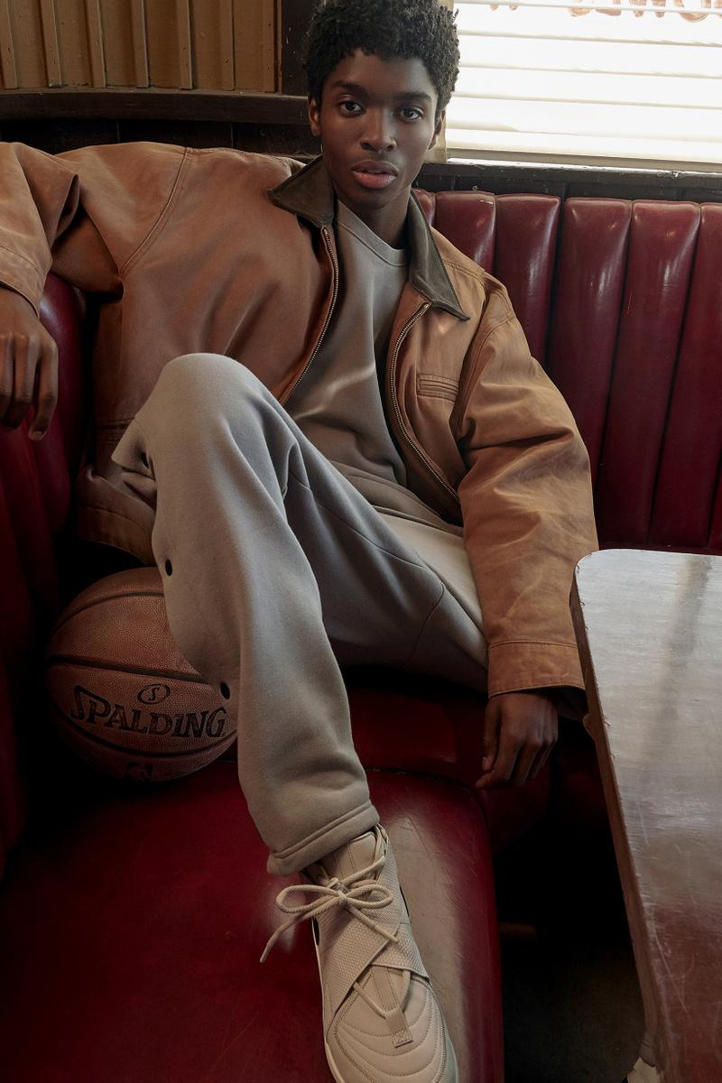 Fear of God x Nike Spring Summer 2019 Collection Air Raid Light Bone Pants Grey Jacket Brown