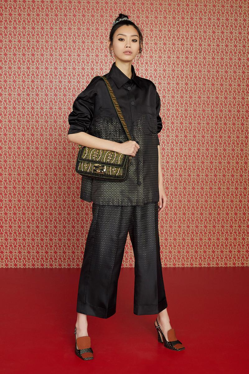 Fendi Pre-Fall 2019 Collection Baguette Peekaboo mon tresor Bags monogram
