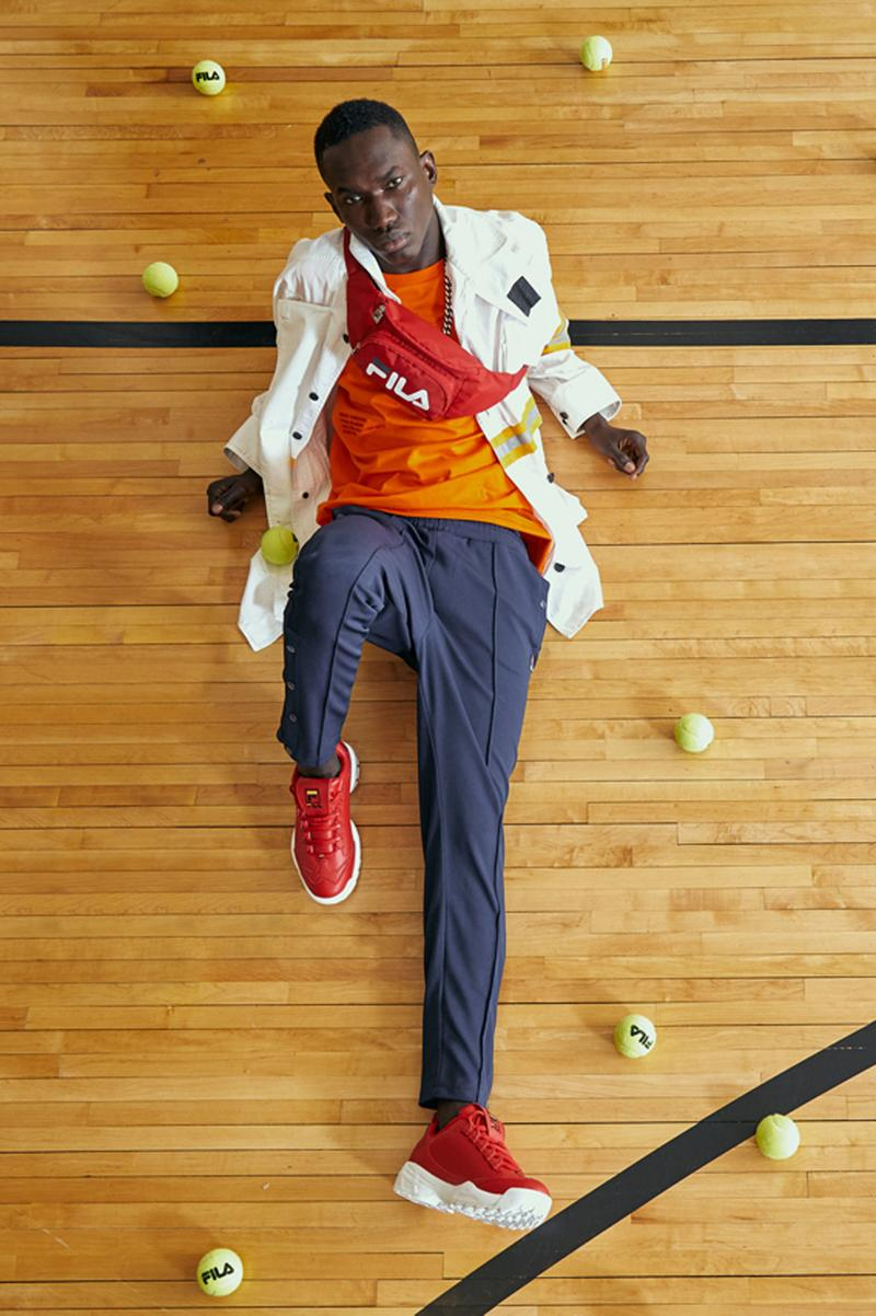 Fila Disruptor 3 Zip Spring Summer 2019 Lookbook