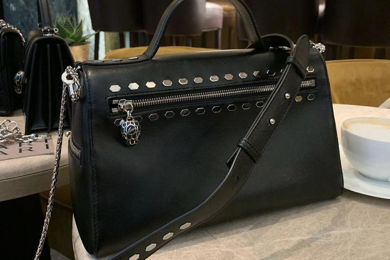 fragment design x Bvlgari Collaboration Bag Black
