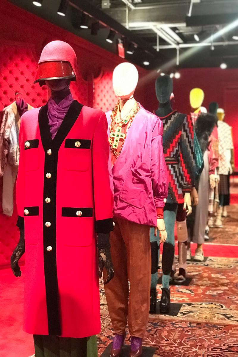 Gucci Fall Winter 2019 Collection Dress Red Black Top Pink