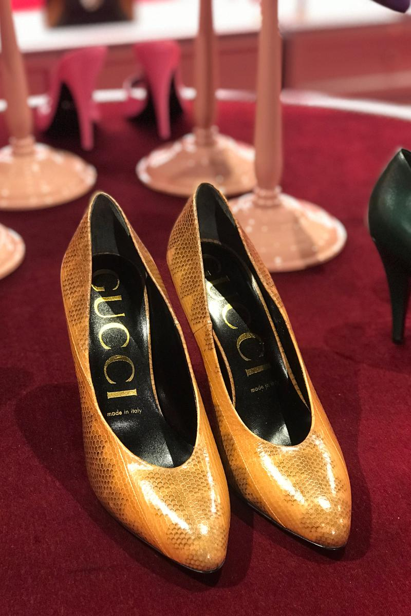 Gucci Fall Winter 2019 Collection Heels Yellow