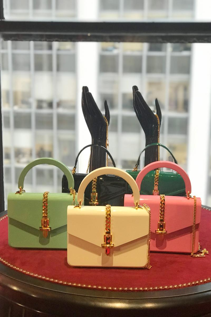 Gucci Fall Winter 2019 Collection Bags Pink Cream Green