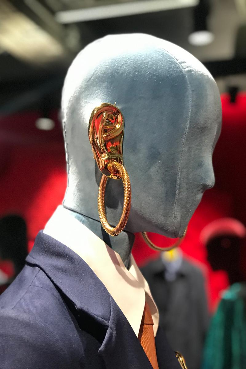 Gucci Fall Winter 2019 Collection Earring Gold