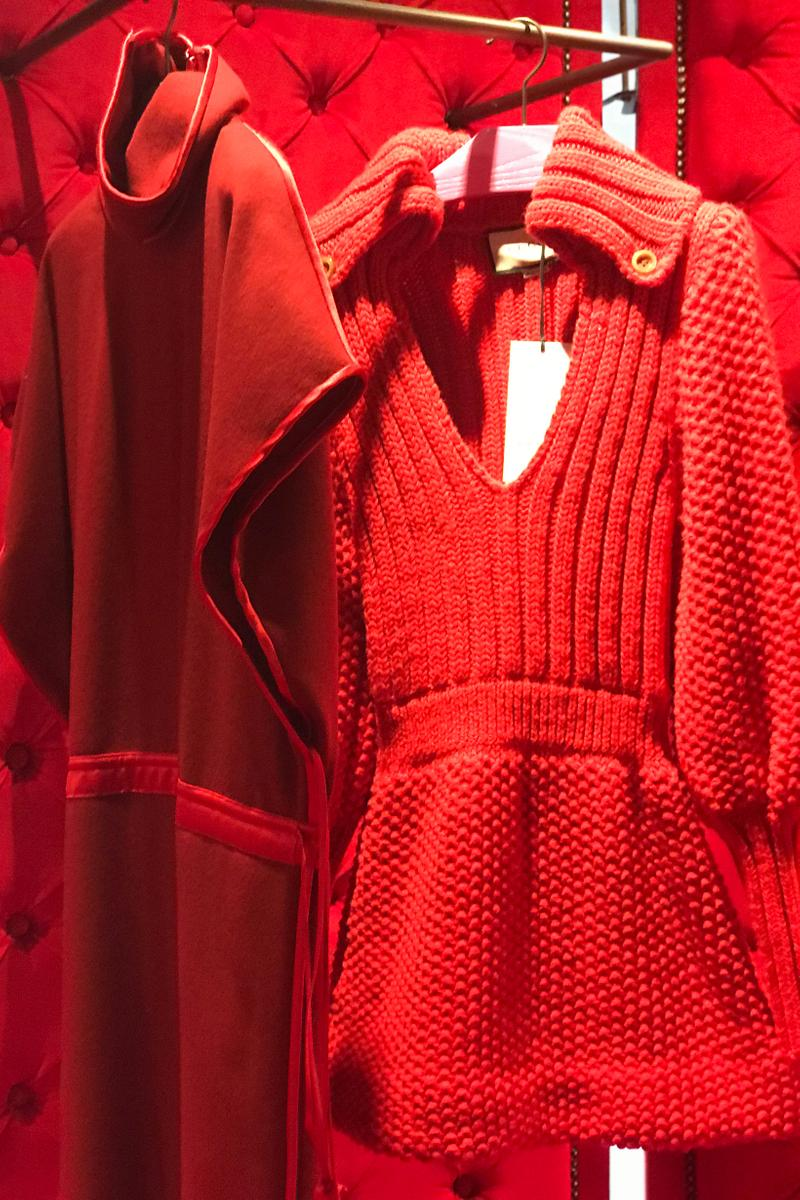 Gucci Fall Winter 2019 Collection Dresses Red