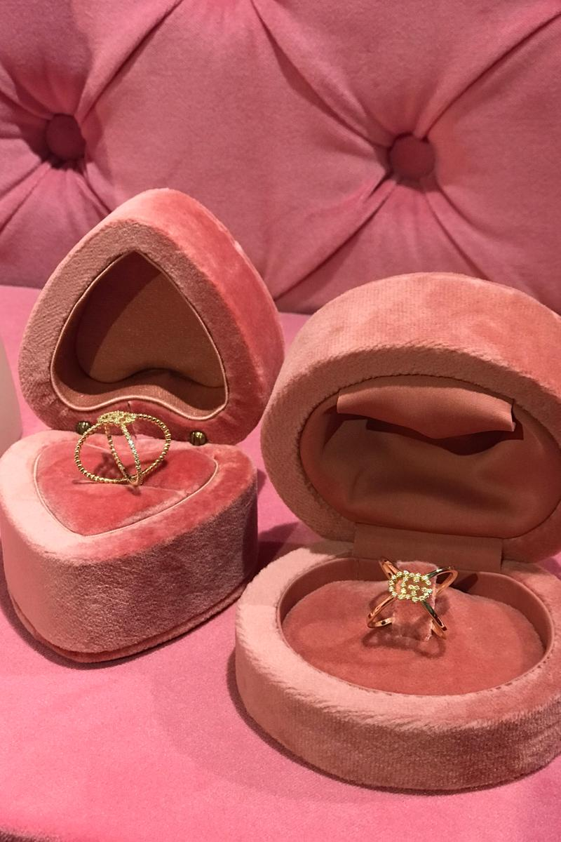 Gucci Fall Winter 2019 Collection Jewelry Gold
