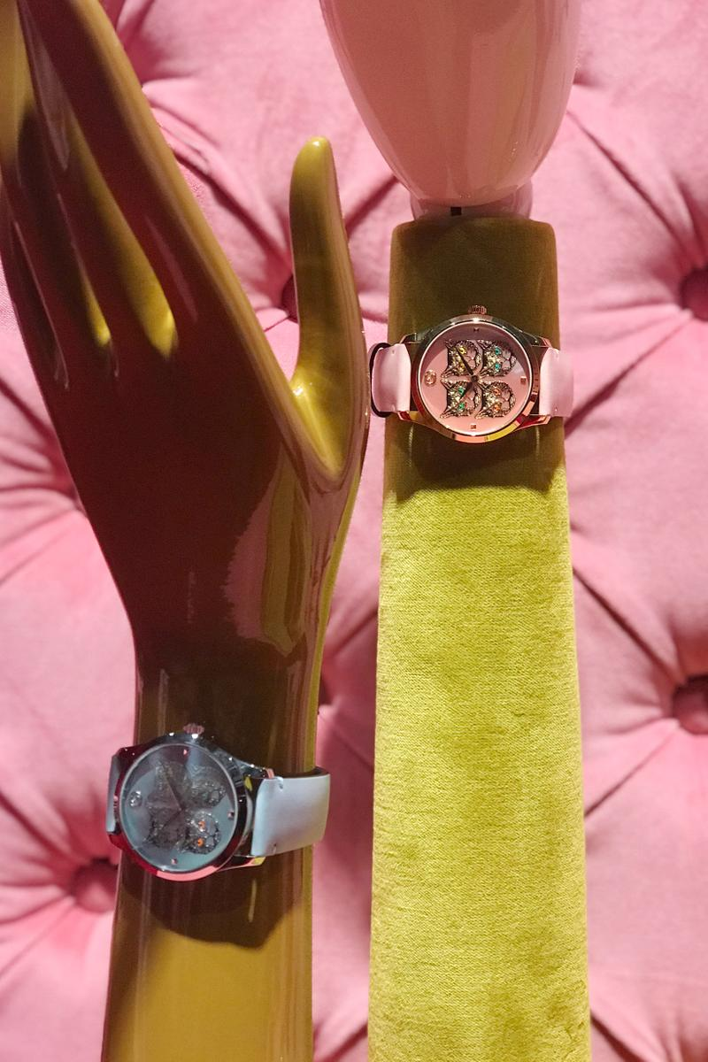 Gucci Fall Winter 2019 Collection Watches Blue Pink