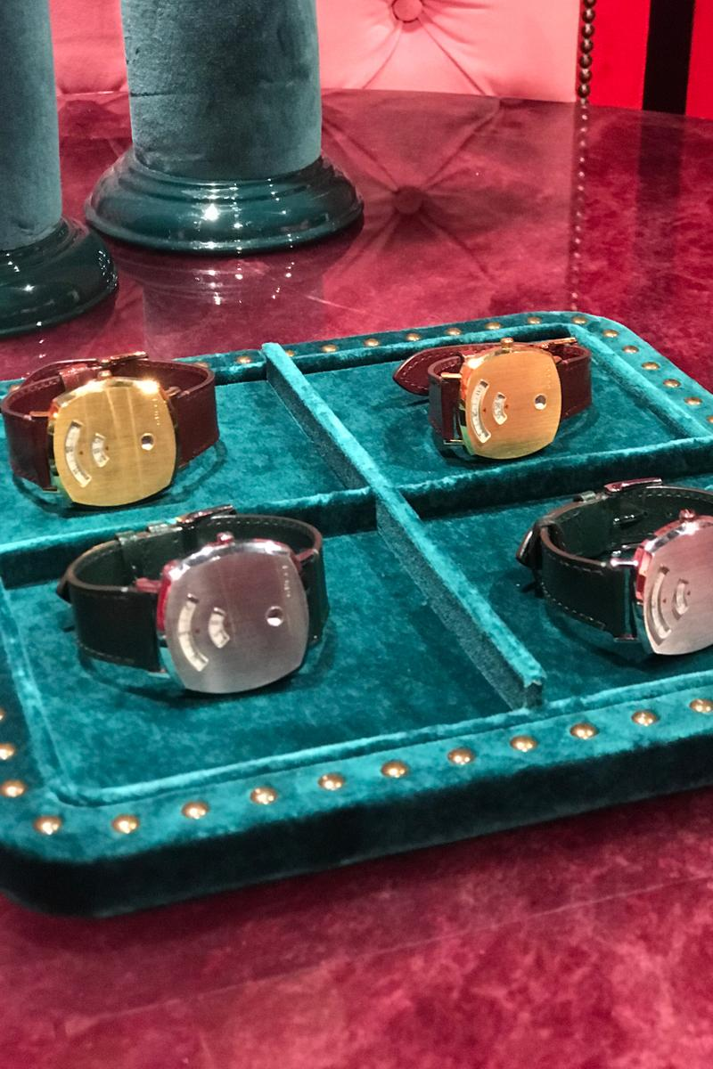 Gucci Fall Winter 2019 Collection Watches Brown Silver Gold