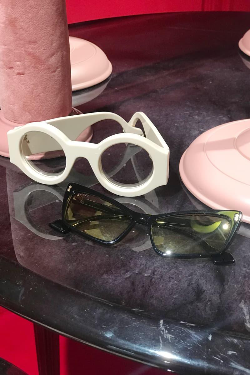 Gucci Fall Winter 2019 Collection Sunglasses White Grey Black