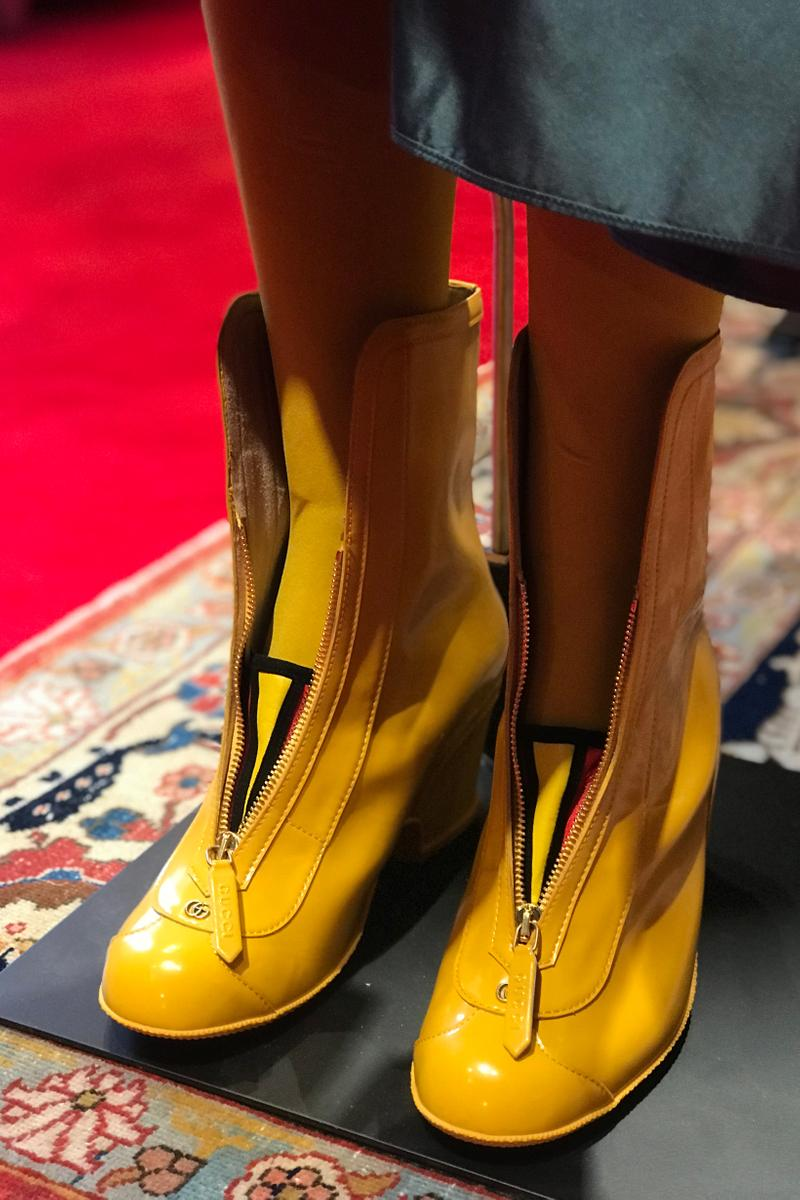 Gucci Fall Winter 2019 Collection Shoes Yellow
