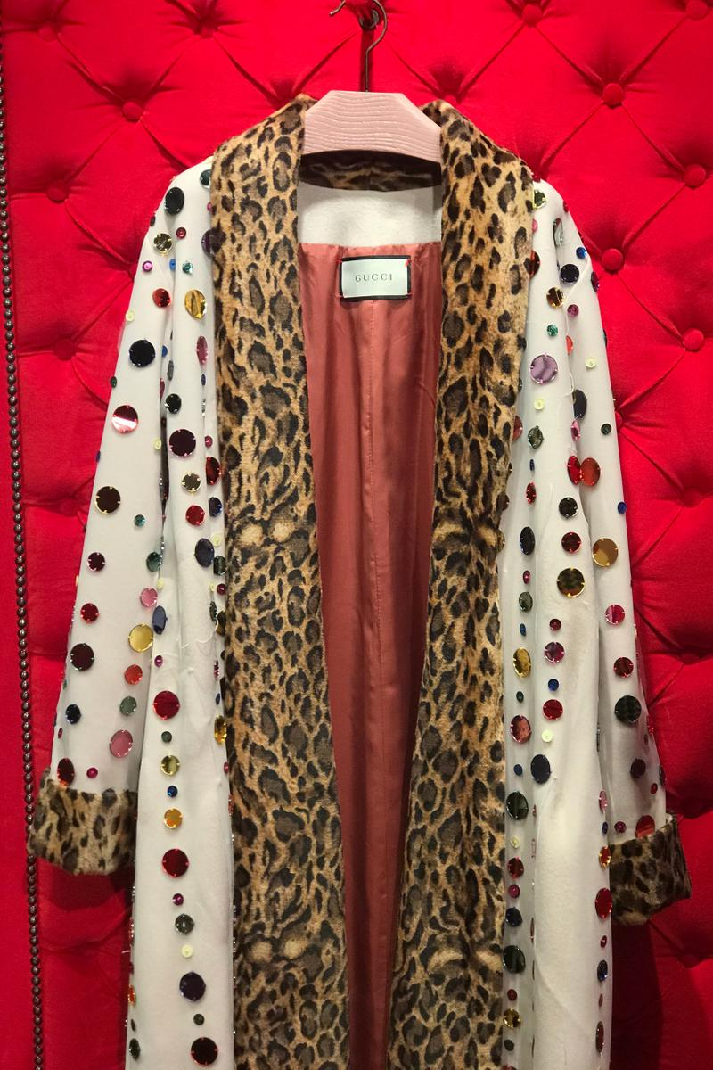 Gucci Fall Winter 2019 Collection Jacket Brown White Black