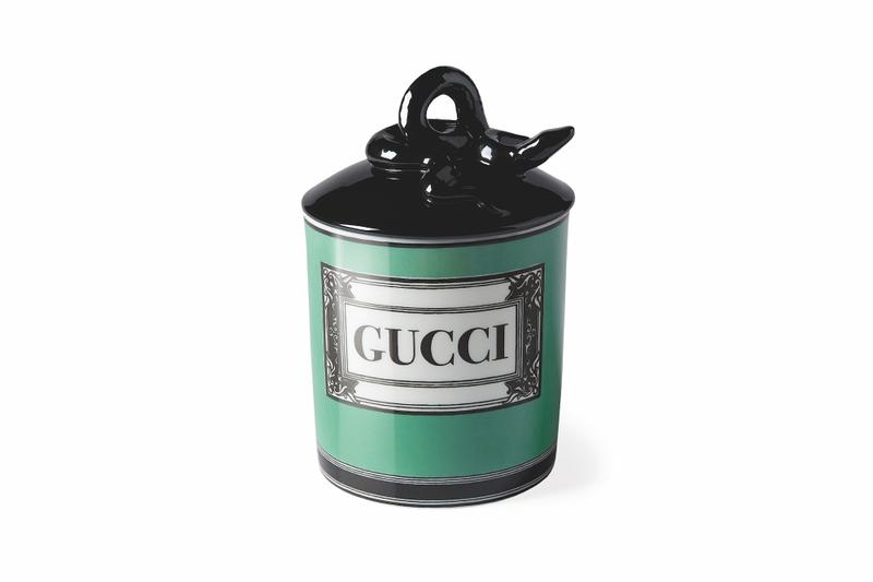 Gucci Decor SS19 Furniture Collection Spring Summer Pillow Monogram Blanket Candle