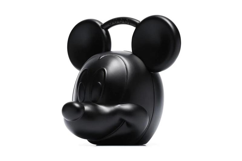 Gucci Mickey Mouse Disney Head Bag in Black Alessandro Michele