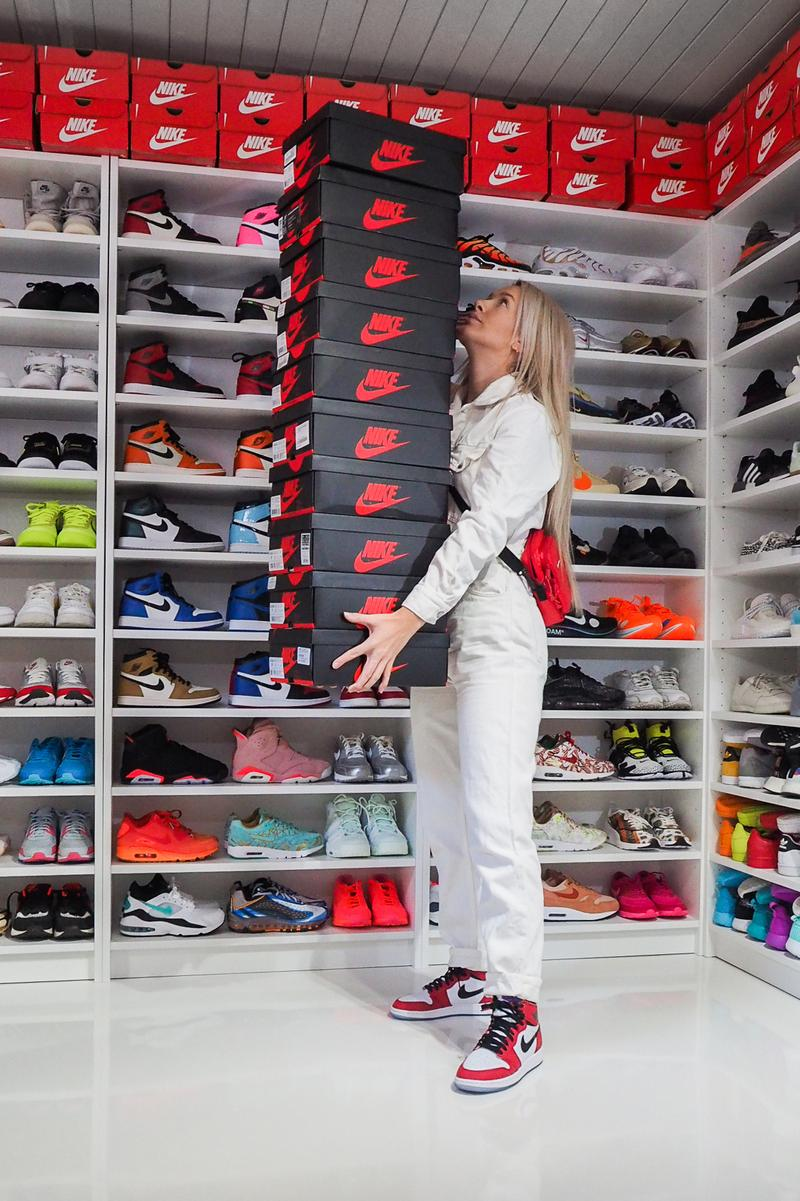 purchase cheap 624b0 c49d8 Hanna Helsø Norway Sneaker Collector Stjørdal Nike Air Jordan Sneaker  Closet Shoe Footwear Shelf Hypebae Scandinavia