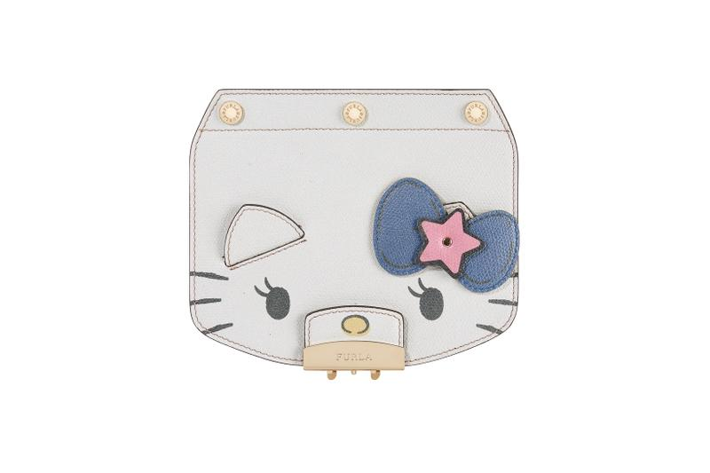 Hello Kitty x Furla Collection Mini Crossbody Flap White
