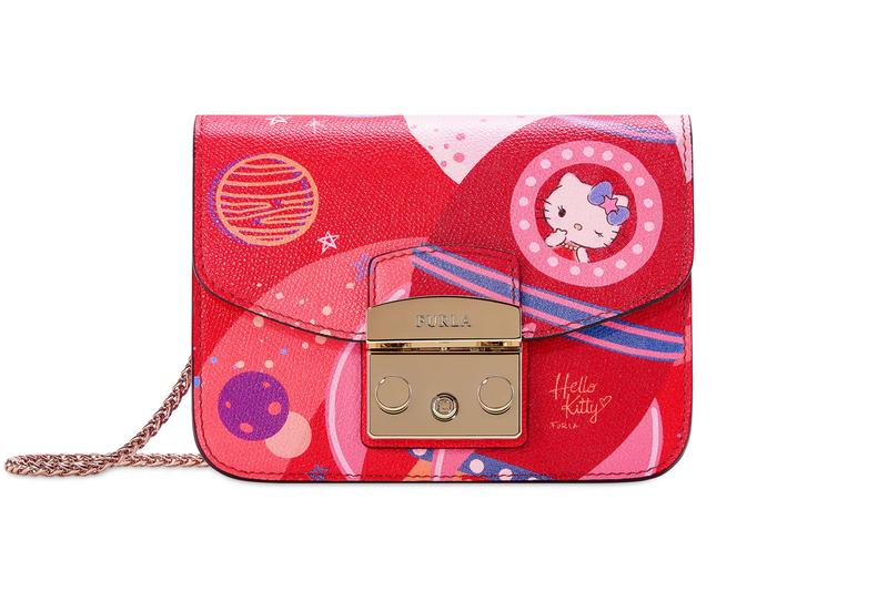 Hello Kitty x Furla Collection Mini Crossbody Red