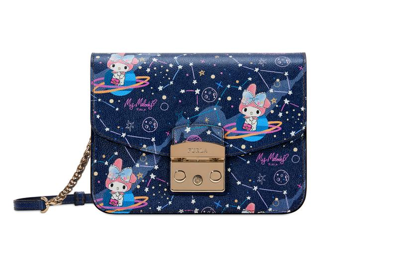 Hello Kitty x Furla Collection My Melody Small Crossbody Blue