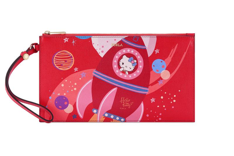 Hello Kitty x Furla Collection XL Envelope Wallet Red