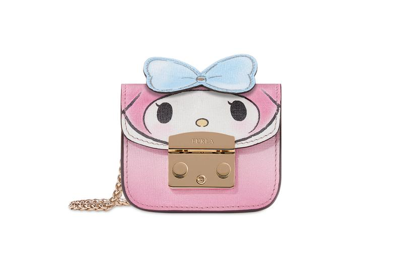 Hello Kitty x Furla Collection My Melody Cosmetic Case Pink Blue