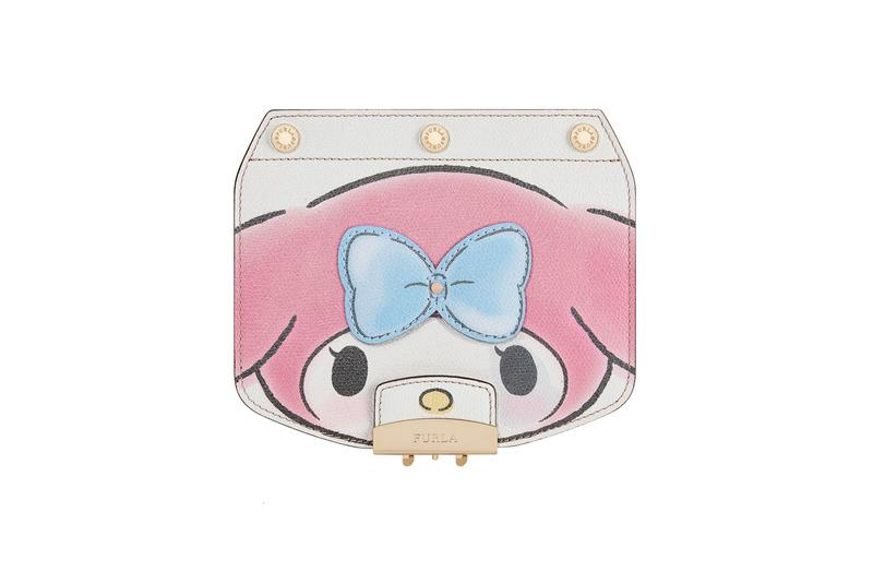 Hello Kitty x Furla Collection Crossbody Flap White Pink