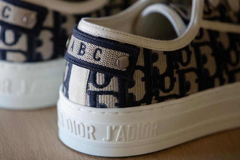 Dior Walk'n'Dior Oblique Canvas Sneaker