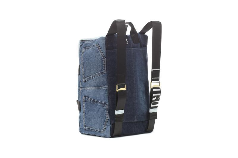 Acne Studios Denim Bag Backpack Spring Summer 2019