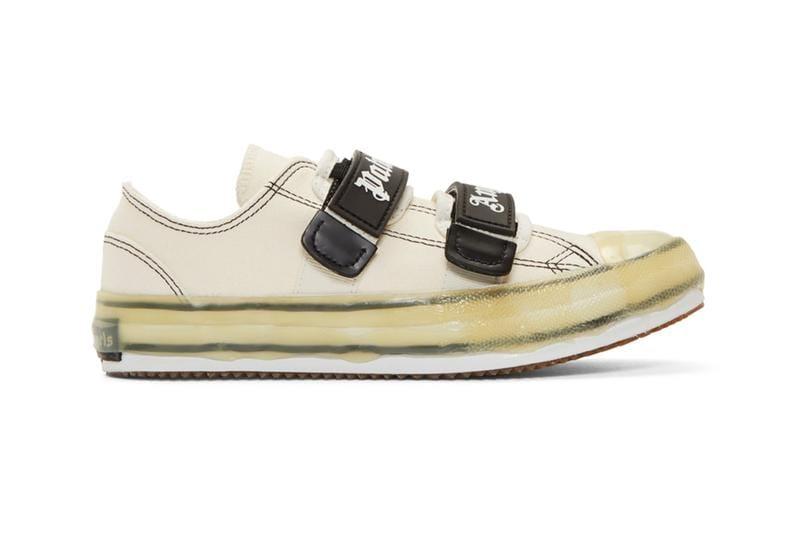 Palm Angels' Velcro Sneaker in Black