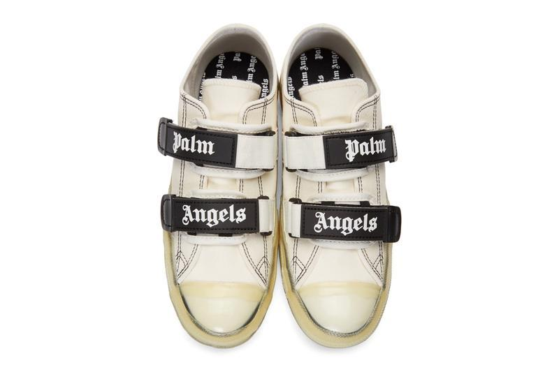 6338861b36974 Palm Angels' Velcro Sneaker in Black & White | HYPEBAE